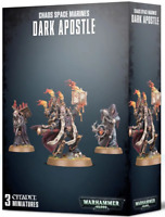 Dark Apostle Chaos Space Marines Black Legion Warhammer 40K NIB