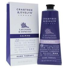 CRABTREE & EVELYN Calming HAND THERAPY 3.45 OZ. Lavender espresso