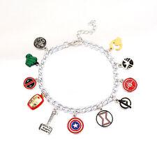 Unusual-Eleven-Charm-Marvel-Avengers-Bracelet