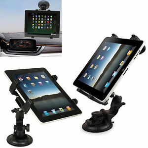 """Universal In Car Windscreen Suction Mount Holder For iPad Tablet 7"""" To 11"""""""