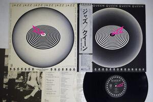 QUEEN JAZZ ELEKTRA P-10601E Japan OBI POSTER VINYL LP
