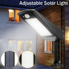 Solar Powered 48-LED Dusk-to-Dawn Sensor Waterproof Outdoor Security Flood Light