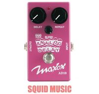 Maxon AD10 Analog Delay  Guitar Pedal Compact Series 600 MillisecondS (OPEN BOX)