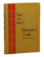 Tom and Jerry's Bartender's Guide HOW TO MIX DRINKS ~ Vintage Cocktail Bar 1948