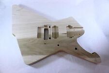 Unfinished Jem Guitar Body - Hybrid Iceman/Destroyer - Fits Ibanez (tm) RG Necks