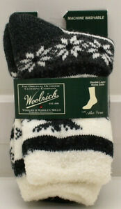 Woolrich Womens's Double Layer Home Socks with Aloe Vera New! NWT