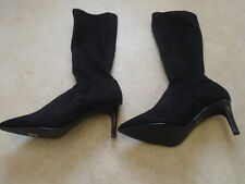 BODEN MOCK SUEDE HEELED  BOOTS SIZE 42==8.5 BNWOB