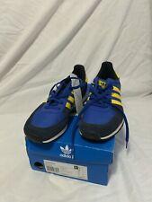 Adidas Original Adistar Racer Running Trainers UK Men's 7.5 Blue BNIB