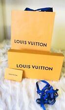 Louis Vuitton Small Orange Box with Gift Bag