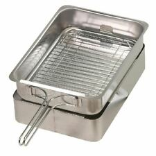 More details for stovetop food smoker with lid - induction compatible - 90 x 390 x 280mm