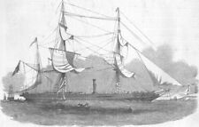 ARCTIC. Expedition to search for Sir John Franklin - Phoenix, old print, 1853