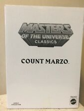 Masters Of The Universe Classics COUNT MARZO. Still Sealed Shipping Box.