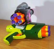 2 x Buzz Bee Toys Air Blaster Tek 6 | Play Gun | Soft Foam Darts | Green & Pink