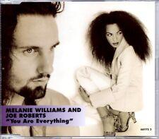 MELANIE WILLIAMS & JOE ROBERTS - YOU ARE EVERYTHING - 4 TRACK CD SINGLE - MINT