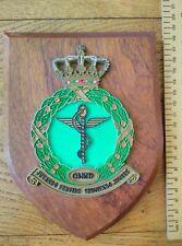 KLu Royal Dutch Air Force mess plaque Geneeskundige Dienst GNKD Air Force Medics