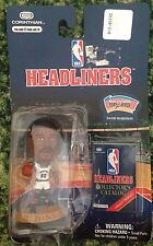 David Robinson San Antonio Spurs 1997 NBA Headliners Mini Figurine, Navy
