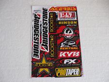 Sticker Aufkleber Renthal KYB Bogen Motorsport Motorcross Racing Autotuning KTM