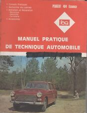 Manuel Pratique de Technique Automobile PEUGEOT 404 - Revue L'Expert Automobile