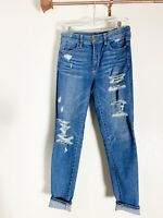 American Eagle Outfitters AEO Skinny Stretch Distressed Jeans Women's 6R