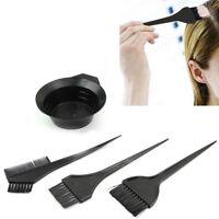 Hair Salon Coloring Dyeing Kit Color Dye Brush Comb Mixing Bowl Tint Tools.