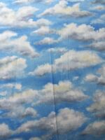 RPA106 Clouds Sky Sunshine Clouds Blue Sky Cotton Fabric Quilt Fabric