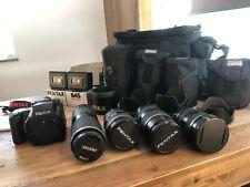 Mint Pentax 645NII Mittelformat Kamera Mit / 4 Zoomobjektiv, Apex Hülle & Japan
