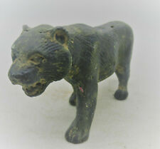 Beautiful Ancient Roman Bronze Military Tiger Ornament Ca 300 - 400 Ad