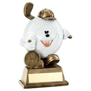 Comedy Golf Award, 14.6 cm ,FREE Engraving upto 30 Letters. RF102