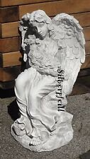 Engel Grabengel Grabstein Grab Figur Skulptur Garten Dekofigur Gartenfigur Deko