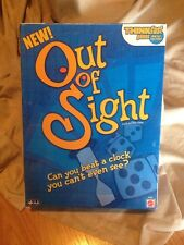 NEW Out Of Sight Game Think Fast Beat the Clock Card & Dice Game