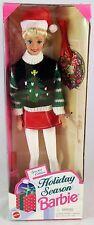 Mattel 1996 Holiday Season Barbie Christmas Doll Sealed