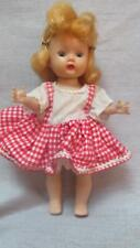 New listing Vintage Nancy Ann Muffie Walker Blonde In Red And White Dress Reduced 6.00