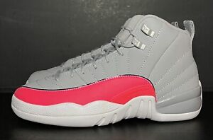 Air Jordan 12 Retro GS Racer Pink 510815-060 Youth Size 6.5Y/Women's Size 8