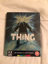 The Thing - Limited Edition Steelbook (blu-ray) Arrow Video [Region B] New Oop