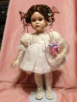 "Collector Porcelain  14"" Doll Sarah's 6th B'day Party By Paradise Galleries"