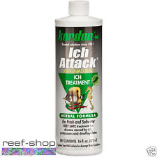 Kordon Ich Attack 16oz Herbal Formula 100% Natural Reef Safe Free USA Shipping