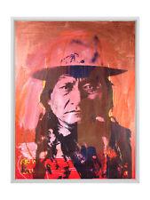 C2 Sitting Bull Contemporary Native American Artwork Crowley Original Painting
