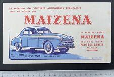Buvard Maïzena / Renault Frégate / Automobile /  Blotter