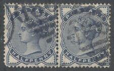 Great Britain SC#98 Pair used 1884 (lotb381)