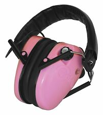 NEW CALDWELL E-MAX PINK LOW PROFILE ELECTRONIC EAR HEARING PROTECTION 487111