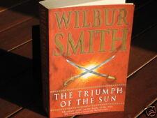 The Triumph of the Sun ~ Wilbur SMITH.  EXTRAoRDINaRy  Entertaining !