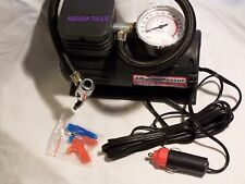 AIR COMPRESSOR MINI- 12 VOLT- PORTABLE - NEW.