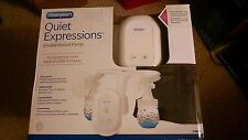 NEW The First Years Quiet Expressions Double Electric Breast Pump
