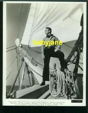 DOUGLAS FAIRBANKS JR VINTAGE 8X10 PHOTO ON A SHIP 1939 RULER OF THE SEA