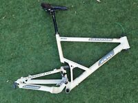 MADE IN USA Cannondale JEKYLL 800 Full Suspension Frame w/ Fox Float Shock XL