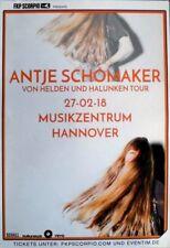 SCHOMAKER, ANTJE - 2018 - Konzertplakat - Von Helden - Tourposter - Hannover