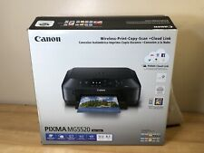 Canon Pixma MG5520 Inkjet All-In-One Photo Printer, New Opened