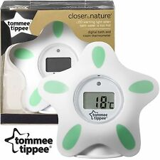 Tommee Tippee Closer to Nature  Bath and Room Thermometer Digital