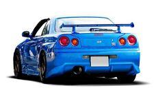 Heck Stoßstange für Nissan Skyline R34 Spoiler hinten bumper GTR Schürze Heck