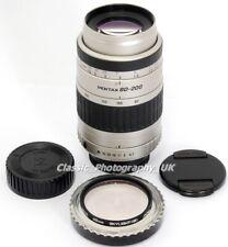 SMC Pentax-FA 1:4.7-5.6 80-200mm ZOOM Lens + Caps Filter for Pentax-K DSLR & SLR